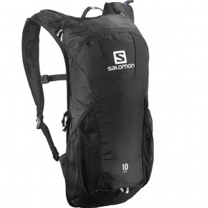mochila de trail running salomon
